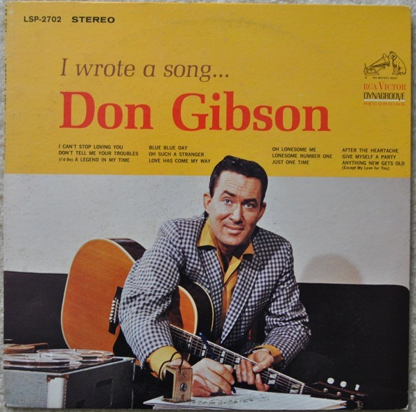 Don Gibson Songs I Wrote Album
