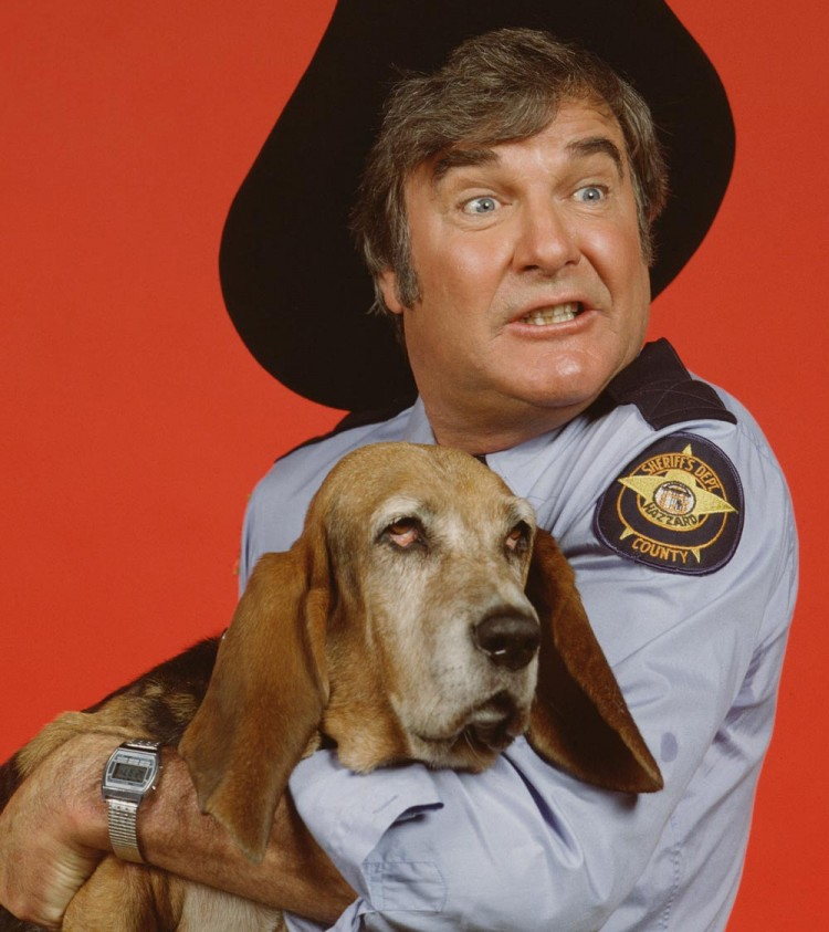 James Best Roscoe P. Coltrane