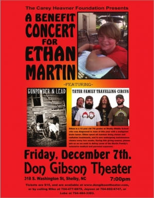 Benefit for Ethan Martin