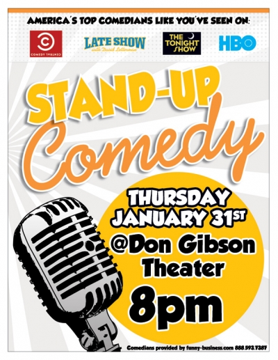 Stand Up Comedy Don Gibson Theater